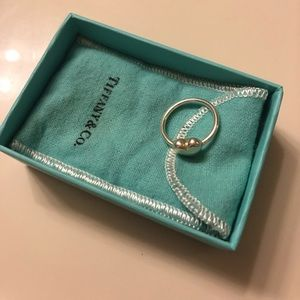 Tiffany & Co Heart Wire Ring Size 6
